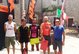 Diga Trail: vincono l'asso bresciano Claudio Chiarini e Zmnako