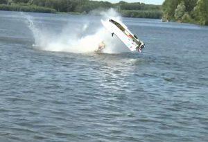 Motonautica, ecco le spettacolari immagini di uno dei due incidenti. VIDEO