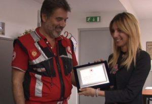 Manovre di disostruzione pediatrica, la Croce Rossa premia Telelibertà