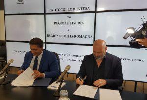 Accordo tra Liguria ed Emilia-Romagna. Sulla statale 45 lavori per 68 milioni di euro