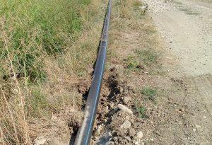Nuova condotta che porta acqua da Borgonovo a Pianello