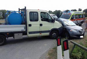 Doppio schianto a Castelvetro e a Gossolengo: sette feriti