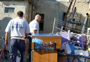 Bosco Tosca, sgomberati e murati gli alloggi occupati abusivamente