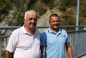 """Padre e figlio custodi della diga di Mignano: """"Siamo qui da 40 anni"""""""