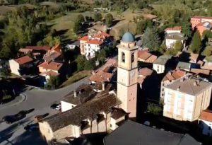 Il drone su Morfasso: le suggestive immagini dall'alto del piccolo paese della Val d'Arda