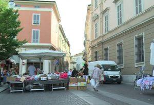 Festa di San Rocco, mercato semideserto a Piacenza