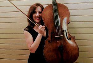"""Maria Giulia, violoncellista della Cherubini: """"Desidero lavorare in Italia"""""""
