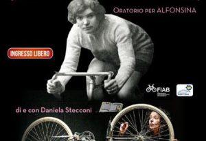 Alfonsina Strada, unica donna al Giro d'Italia maschile. Spettacolo al San Matteo