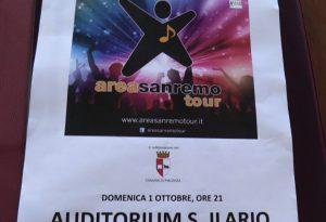 Area Sanremo Tour, tappa piacentina per i giovani talenti