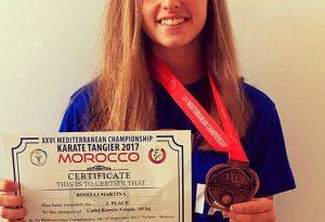 La piacentina Martina Boselli conquista il bronzo a Tangeri. Ora il mondiale