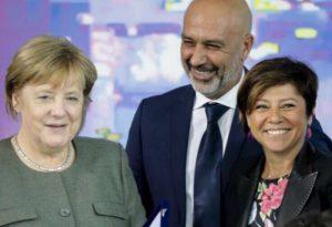 """Terremoto, incontro De Micheli-Merkel: """"Confermato il sostegno tedesco"""""""