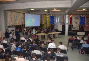 Primo giorno di scuola: il provveditore Maurizio Bocedi al Mattei