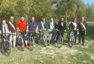 Inaugurata la nuova ciclovia del Trebbia: in bici da Piacenza a Rivergaro