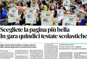 Scegliete la pagina più bella: torna la scuola di giornalismo per 15 testate scolastiche