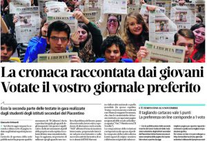 Scuola di giornalismo di Libertà: da oggi si votano le pagine degli studenti