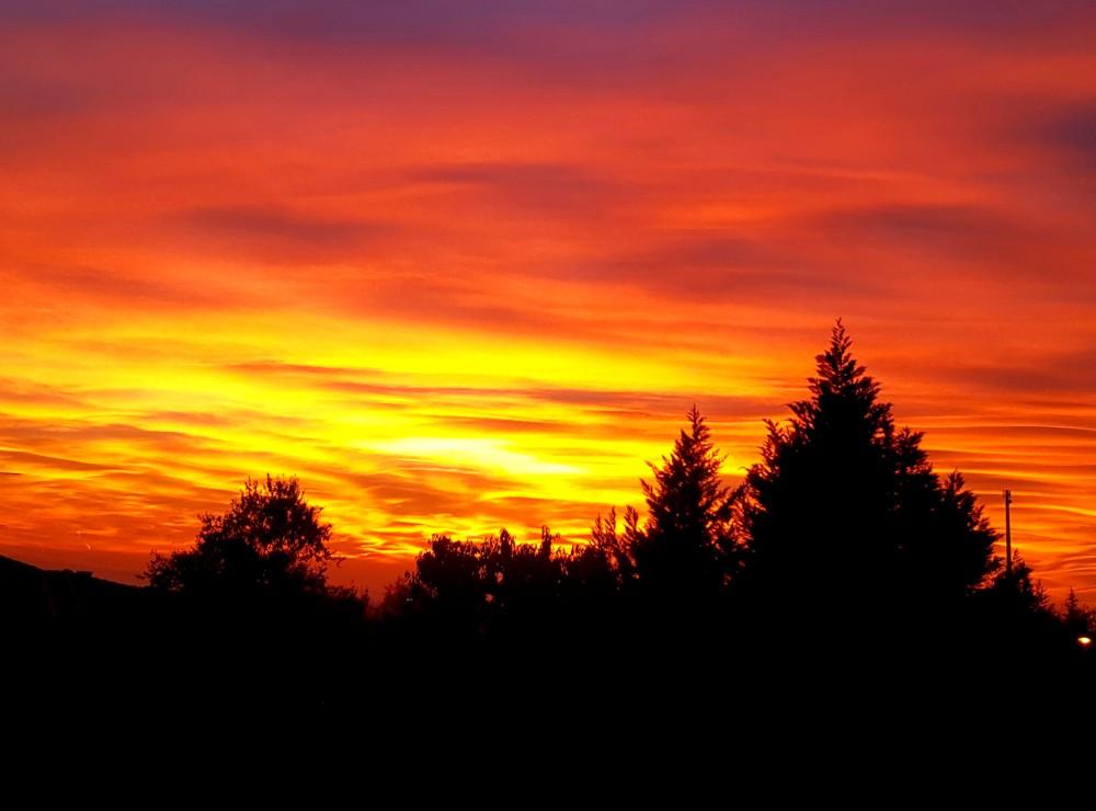 I tramonti pi suggestivi su piacenza e provincia for Arredamenti piacenza e provincia