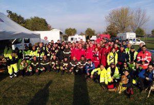 Maxi esercitazione di Protezione Civile: 130 volontari in azione