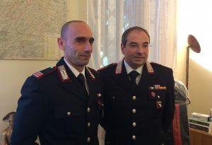 Carabinieri, cambiano due comandanti