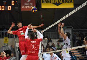 Wixo Lpr Piacenza-Kione Padova 1-3. Le foto