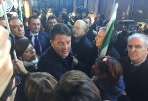 """Renzi fa tappa a Piacenza e visita il Musp. """"Ho visto progetti importanti"""""""
