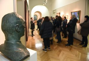 Piacenza ha ricordato Luciano Ricchetti con una visita guidata alle opere