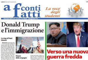 """Tornano i giornali scolastici con Libertà: si parte con """"A conti fatti"""""""