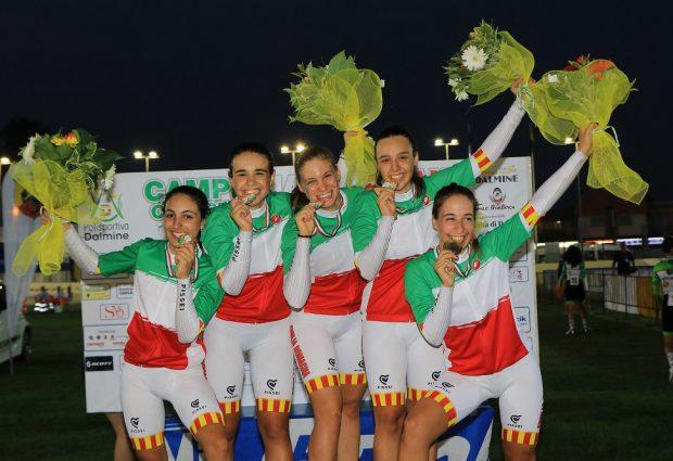 Il VO2 Team Pink celebra le sue campionesse: è primato a livello nazionale