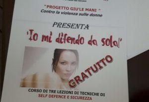Autodifesa, a Castel San Giovanni un corso di arti marziali per donne