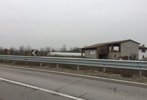 Segnalazione a buon fine: installato un guardrail sulla curva pericolosa tra San Giorgio e Podenzano