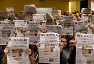 Giornali scolastici, in edicola su Libertà 5 pagine dedicate al meeting
