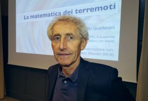 """Terremoti: la matematica può """"salvare"""".  Quarteroni incontra gli studenti"""