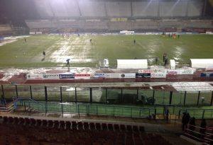 Pioggia incessante e campo impossibile, Piacenza-Siena rinviata
