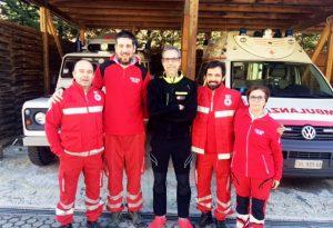 Calciatore e volontario in Croce Rossa, Guglieri capitano e cuore d'oro