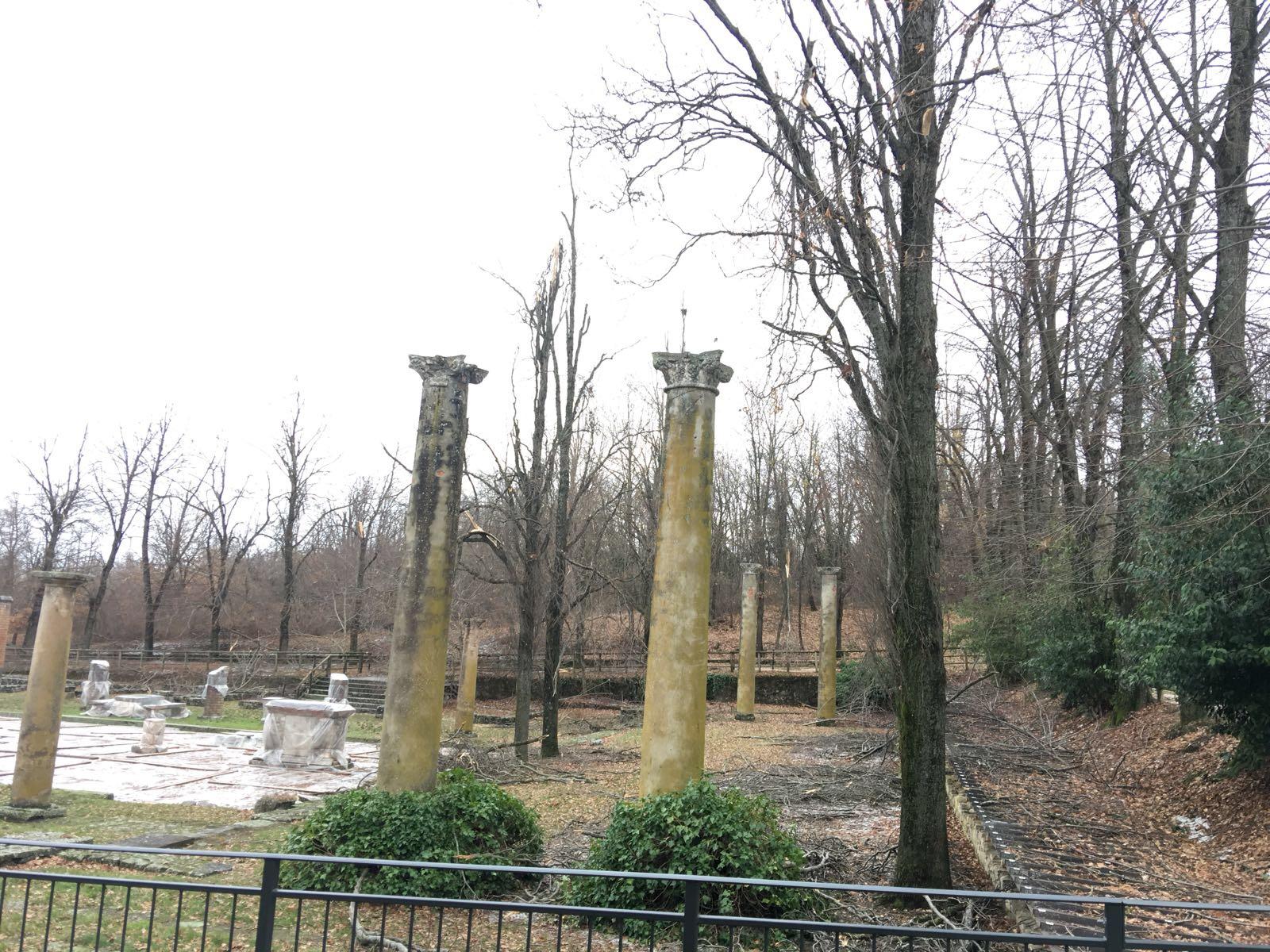 Veleia, iniziati i lavori di messa in sicurezza del foro romano