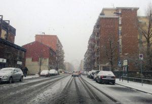 Tutto come da previsioni: neve anche in città, ora pericolo ghiaccio