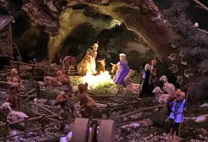 A Strà di Nibbiano si rinnova la tradizione del presepe meccanico