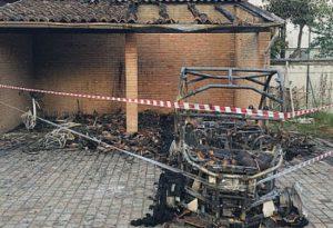 Incendiò un quad a Gossolengo, arrestato. Tra le cause dissapori con il proprietario