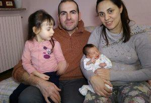 Alta Valtidone, si chiama Sofia la prima bebè nata nel nuovo Comune