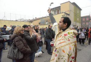 Marcia, benedizione degli animali, turtlitt: S.Antonio festeggia il patrono