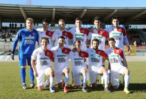 Cestaro risponde a Paccagnini, Fiorenzuola-Tuttocuoio 1-1. FOTO E VIDEO