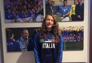 Orgoglio San Giuseppe: prima convocazione in maglia azzurra per la giovane Lucrezia Baffi