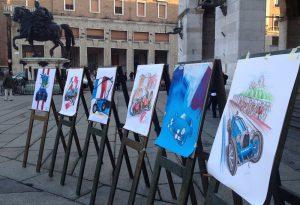 Il 2018 del Cpae si è aperto con i magnifici disegni dei ragazzi dell'artistico