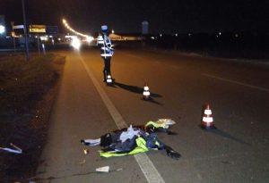 Ciclista investito da un furgone sulla via Emilia: è in condizioni gravi