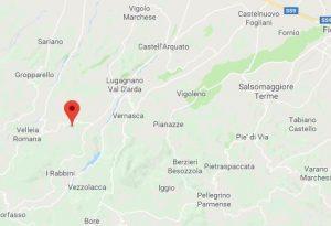 Scossa di terremoto nella notte tra Vernasca e Veleia, nessun danno
