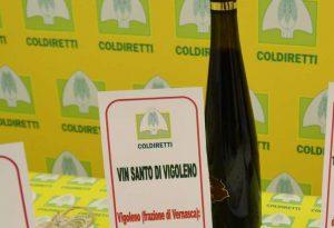 Tipicità piacentine in Italia, spicca il Vin Santo di Vigoleno. Studio Coldiretti