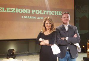 A Telelibertà, primo duello tra i candidati al collegio uninominale del Senato