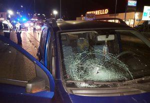 Via Emilia Pavese, 39enne investita da un'auto. Trasportata all'ospedale di Piacenza in gravi condizioni