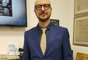 Stasera a Nel Mirino ospite il creativo Paolo Guglielmoni