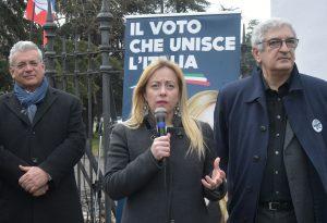 """Giorgia Meloni: """"Porteremo al governo i veri patrioti"""""""