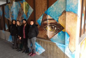 """Inaugurato il murale realizzato dagli studenti del progetto """"Educ-azione Resiliente"""""""